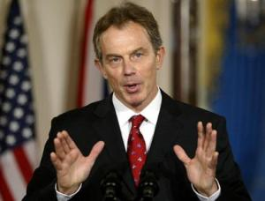 Tony Blair: Peter Mandelson is this much of a...
